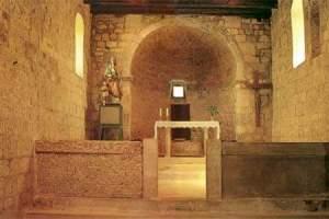 La Bascanska Ploca dans l'église de Baska