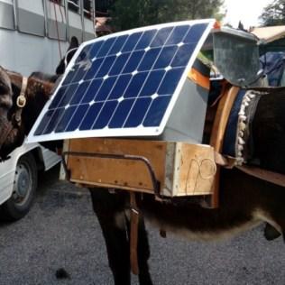 La centrale solaire