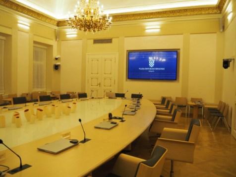 Salle du Conseil des Ministres / côté sud