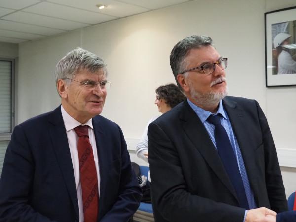 Filip Vucak et Jean Solito