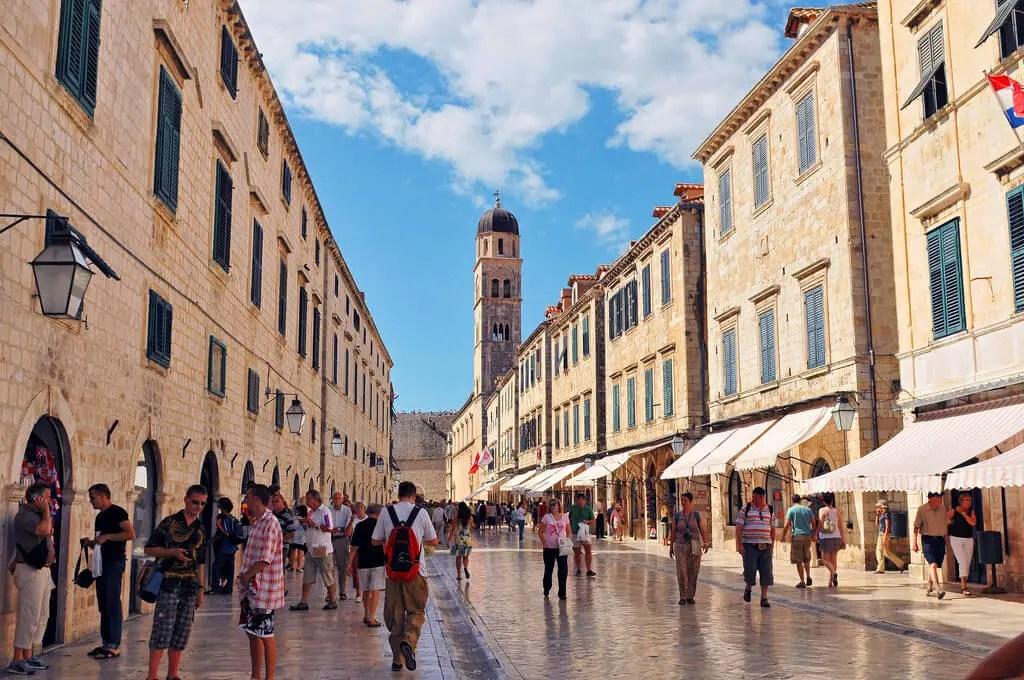 Des quotas de visiteurs à Dubrovnik ?