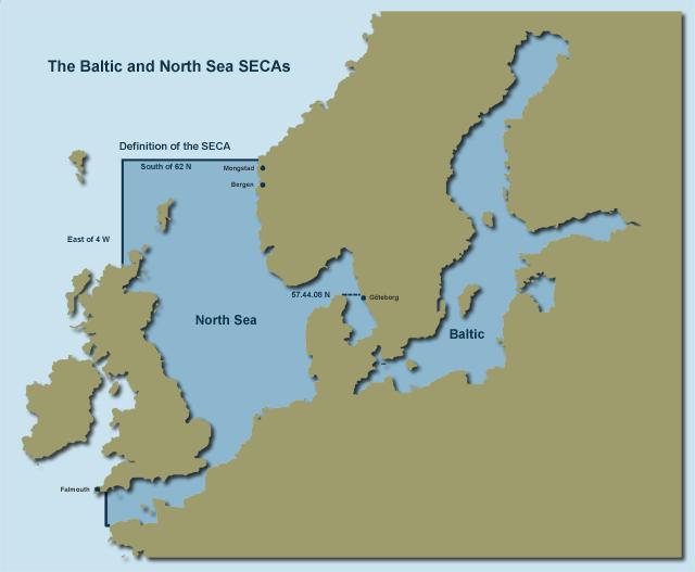 North Sea Baltic ECA