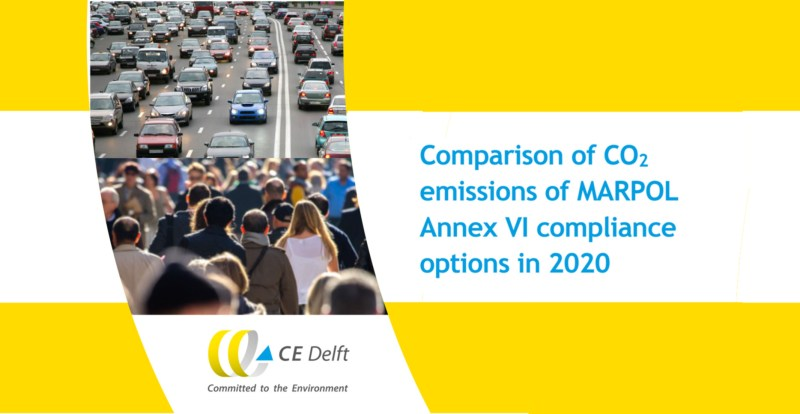 CE Delft compares CO2 emissions
