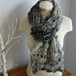Opal Shell 2 in 1 Wrap & Scarf Crochet Pattern from Crochet 247
