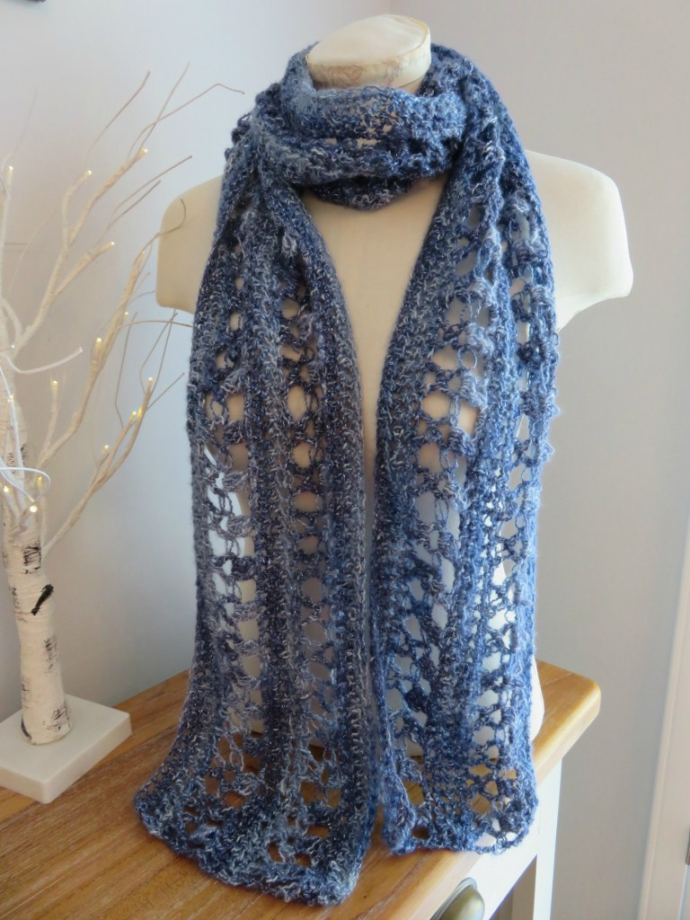 cean Kiss Summer Scarf from Crochet247