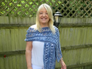 Ocean Kiss Summer Wrap from Crochet 24/7