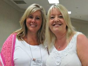 Meeting people I admire CGOA Conference - Kathy Lashley ELK Studio Crochet247