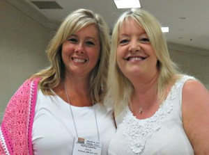 Meeting people I admire CGOA Conference - Kathy Lashley ELK Studio Crochet247