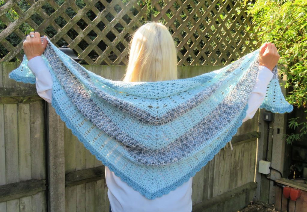 Simply Iris Shawl From The Simply Iris Collection Of Crochet Patterns