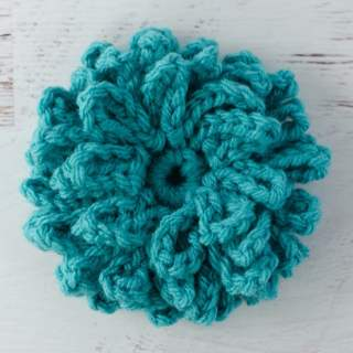 Crochet Loopy Flower Pattern