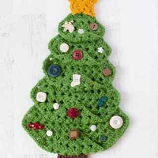 Granny Square Christmas Tree