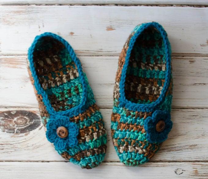 Free Crochet Slipper Pattern