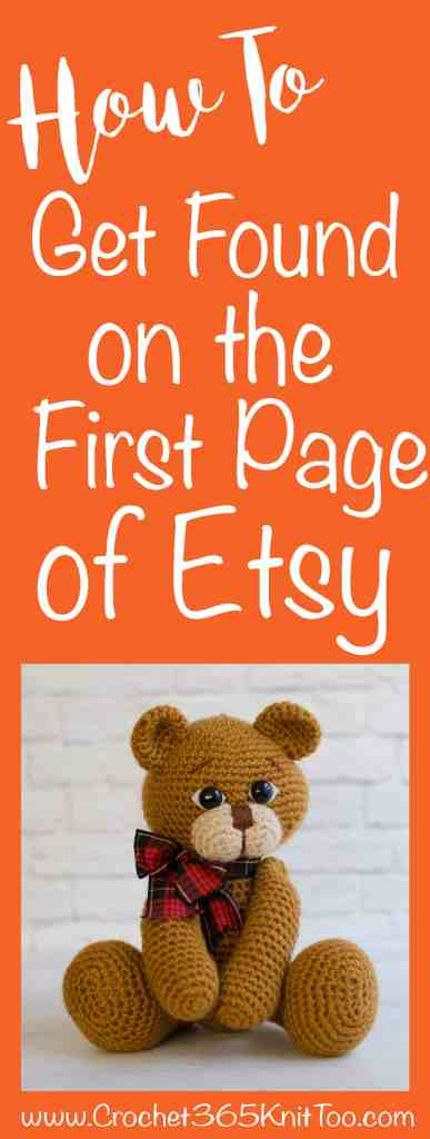 How to Get Found on the First Page Of Etsy Search