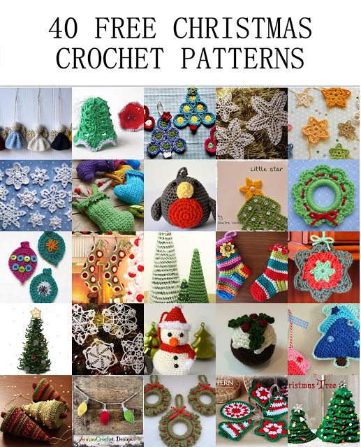Crochet Christmas Ornaments Patterns.40 Free Christmas Crochet Patterns Crochet Arcade