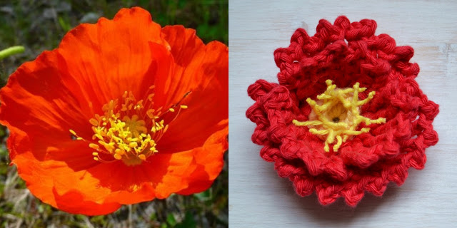 Free Crochet Flower Pattern Day 5 Island Poppy Crochet Arcade