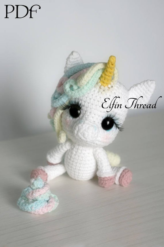 20 Most Amazing Unicorn Amigurumi Patterns Crochet Arcade