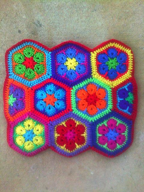 crochet hexagons crochet purse