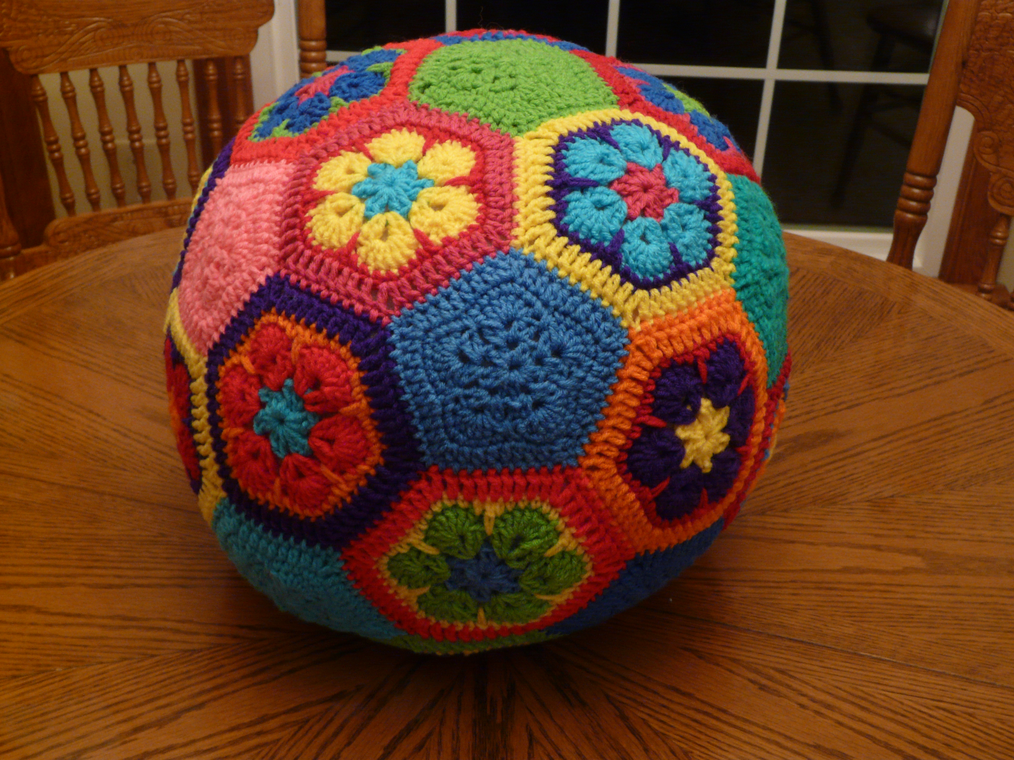 Crochet Redux Piecing Together The Soccer Ball