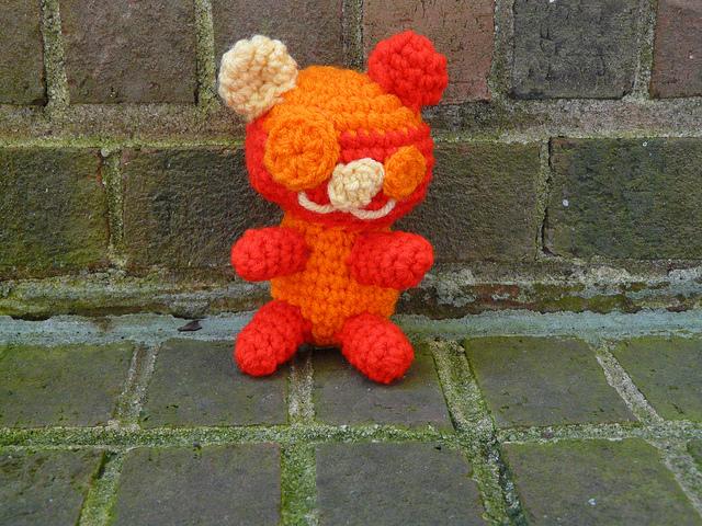 crochet puppy linux amigurumi