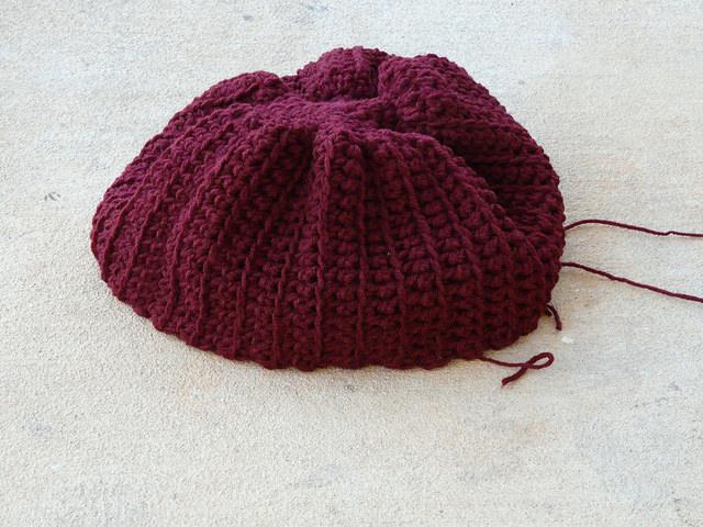 crochet hat crochet beret