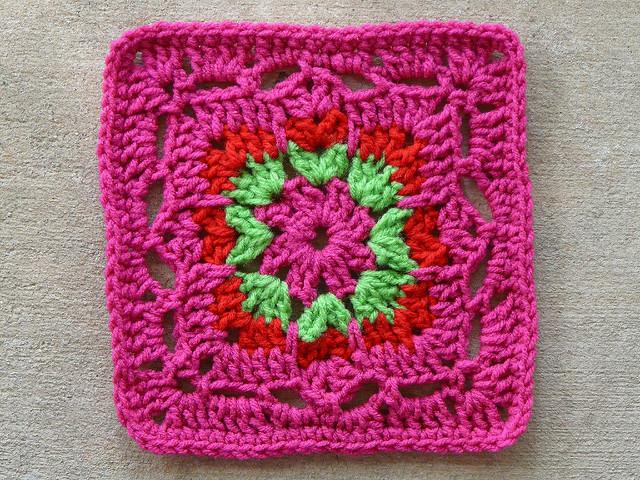 crochet square 72