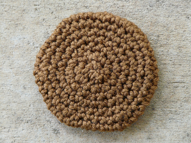 crochet cookie gingersnap