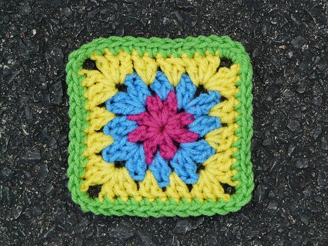 crochet square 9
