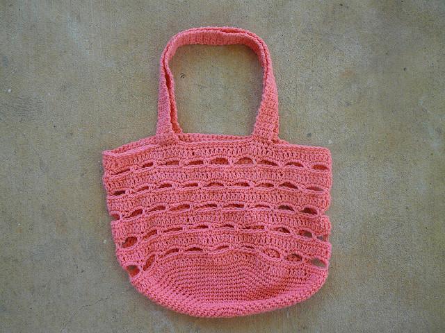 crochet stash basket