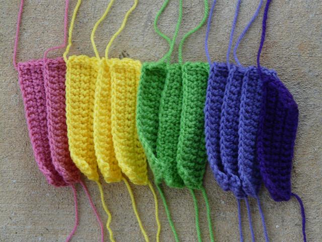 crochet rectangles