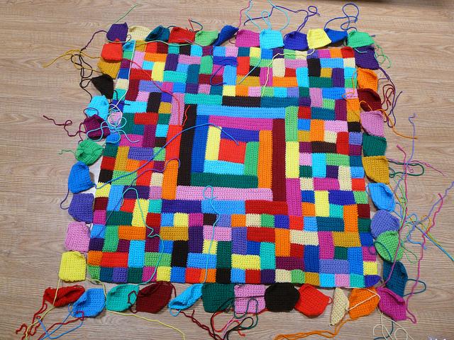 crochet squares crochet quilt