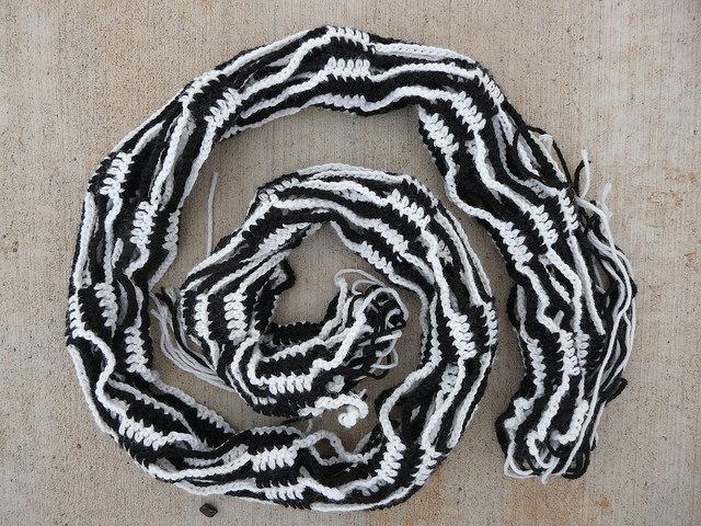 crochet scarf crochet shawl spiral