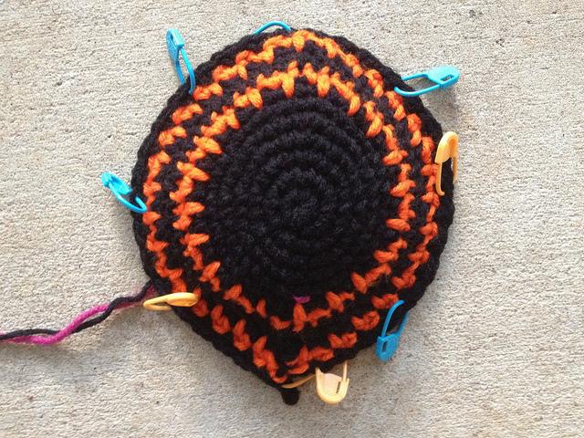 crochet beanie with spikes crochet hat
