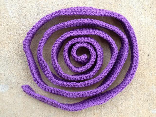 crochet border piece