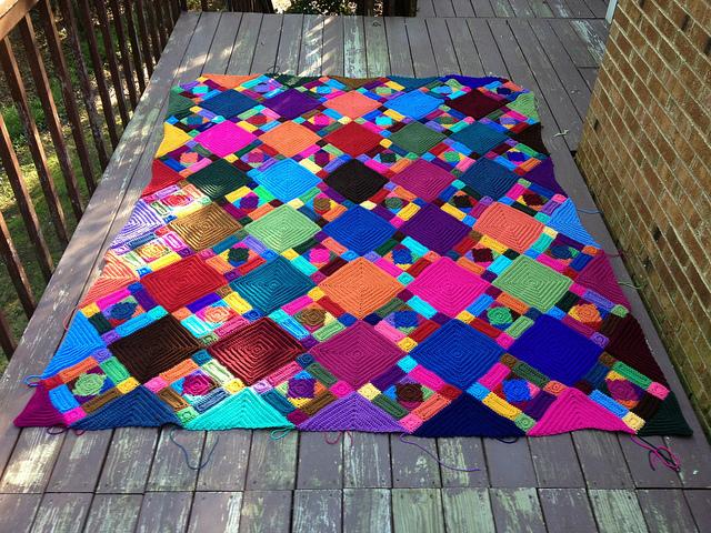 textured crochet border Archives - Crochetbug