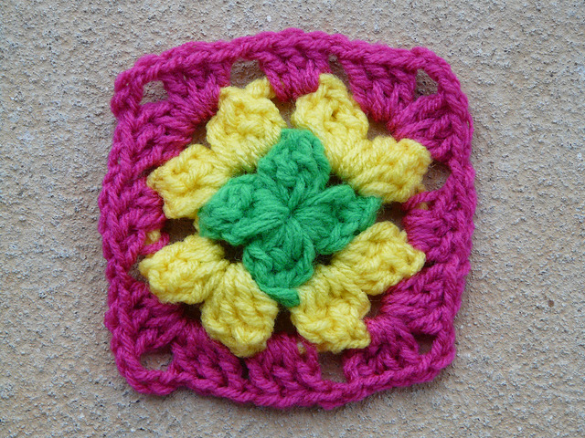 Crochet Square 87