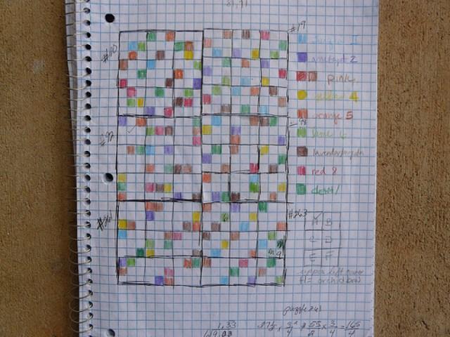 crochetbug, crochet squares, crochet afghan, crochet sudoku, crochet blocks, crochet puzzle