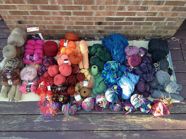 instant yarn stash acquisition