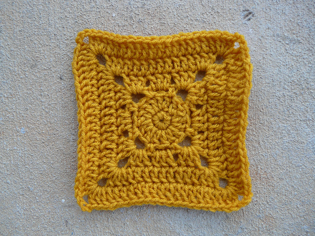 companion crochet square