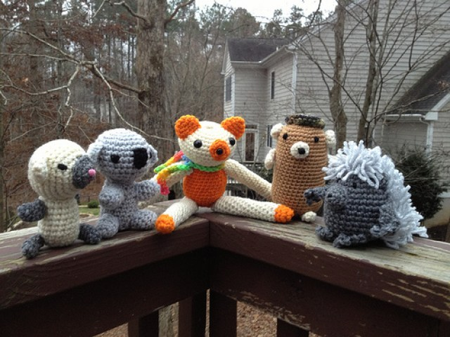 crochet amigurumi collection