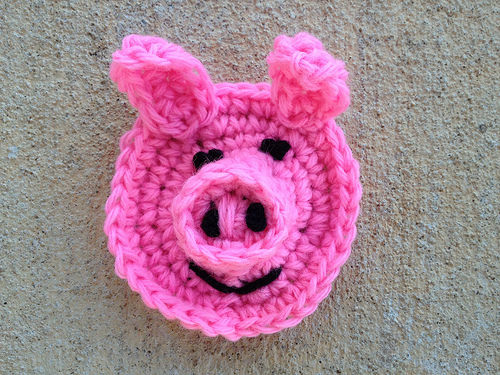 A completed pig