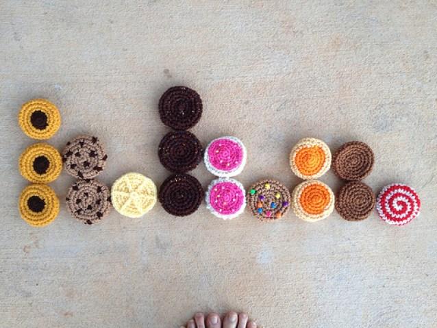 crochet cookies, crochetbug, crochet bag, crochet tote, crochet circles, crochet sudoku, crochet puzzle