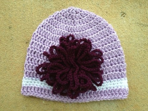 A revised version of the Elle Woods Legally Blonde hat