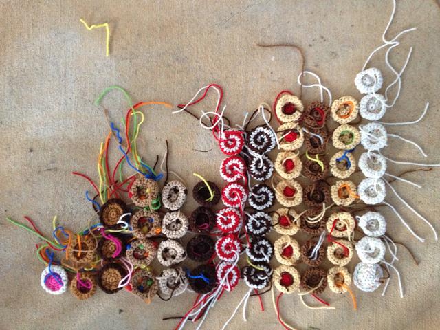 small crochet cookies