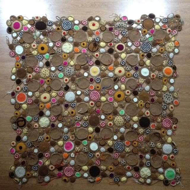 crochet cookies, crochetbug, crochet circles, crochet afghan, crochet throw, crochet blanket, state fair crochet, north carolina
