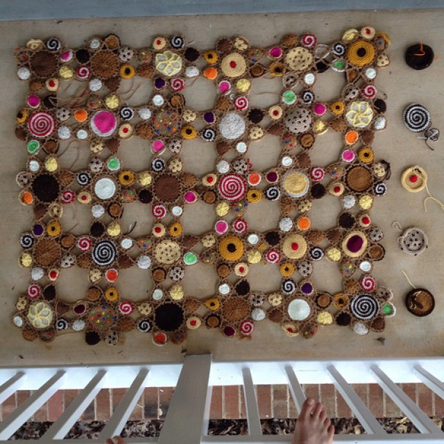 five more crochet cookie motifs