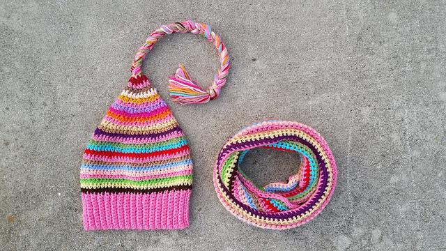 crochet hat crochet scarf