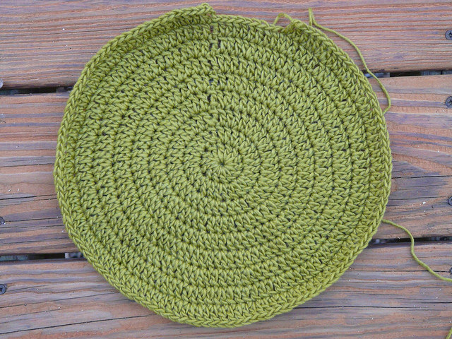just right crochet circle