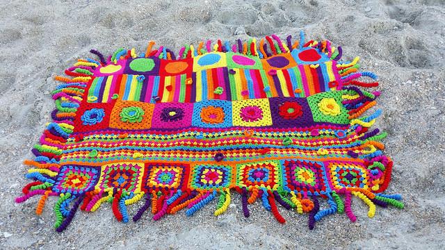 groovy crochet blanket crochet afghan crochet squares