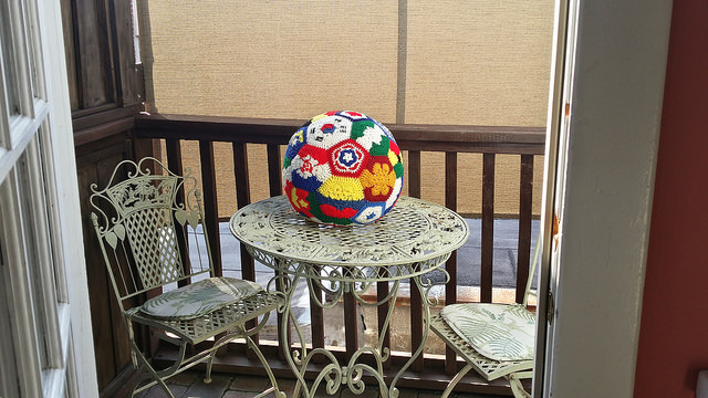 2014 world cup crochet soccer ball
