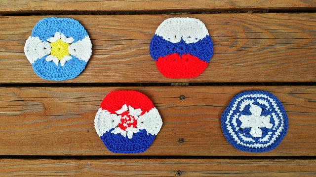 crochet hexagons crochet soccer ball